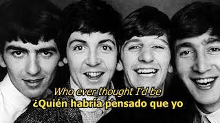 Bésame mucho  - The Beatles (LYRICS/LETRA) [Original]
