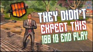 THEY DIDN'T EXPECT ME TO DO THIS! 100 I.Q END GAME COD BLACKOUT PLAY!