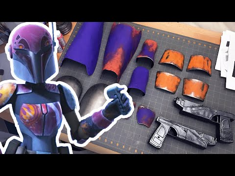 Working on Cosplay for FanExpo | Sabine Wren from Star Wars Rebels