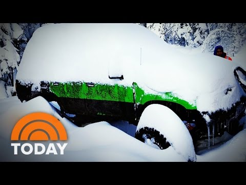 Winter Storm Survival Tips: What To Do If You Skid Or Get Stranded | TODAY