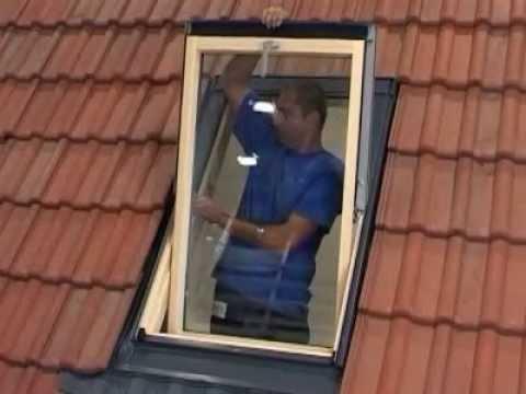 Dachfenster selber einbauen auf Ziegelbedachung  - von Solstro, der Marke von Dachfensterdirekt.de