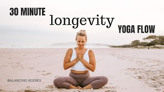 30 Minute Longevity Yoga Flow
