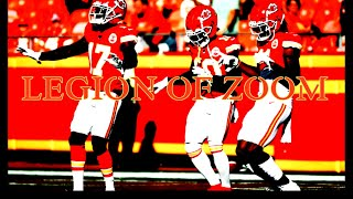 LEGION OF ZOOM    Fastest WR Core in the NFL ᴴᴰ