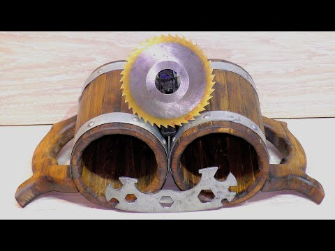 Не заменимая самоделка для бани)how to make a beer mug out of wood