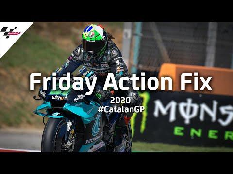 全ライダーに優勝のチャンスが?!MotoGP カタルーニャGP。2020年のMotoGPはどのライダーにも優勝のチャンスが。金曜日に行われたプラクティス走行のハイライト動画