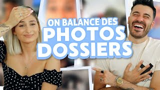 On balance des photos privées 