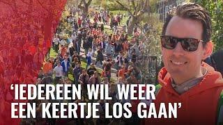 Feestelijke en vooral drukke Koningsdag in Amsterdam
