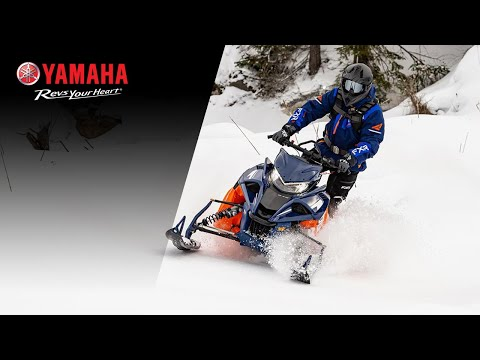 2021 Yamaha Sidewinder B-TX LE 153 in Mio, Michigan - Video 1