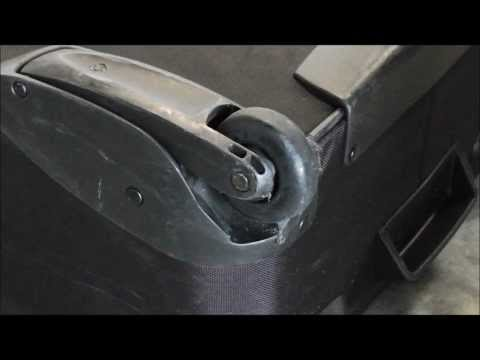 Switch Your Luggage To Inline Skate Wheelsfor Better Durability