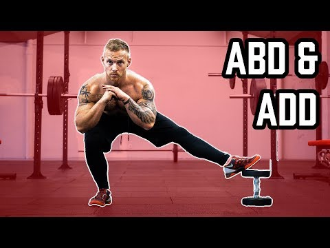 ABD & ADDUKTOREN Richtig trainieren | Mit diesen Übungen deine Oberschenkel ohne Geräte trainieren