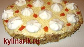 Смотреть онлайн Рецепт торта из песочного теста