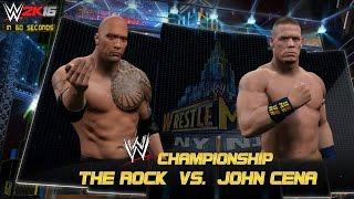 WWE 2K16-15: Wrestlemania 29 in 60 Seconds!