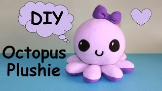 DIY Octopus Plushie!!! | With Free Templates