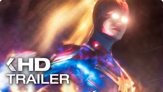 CAPTAIN MARVEL - 8 Minutes Trailers & Clips (2019)