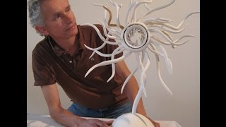120 Ceramic Sculptures By Ceramic Paper Clay Expert Graham Hay (1:23 Minutes)