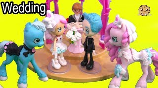 Wedding Day ! Getting Married Shopkins Shoppies Bride Video 5