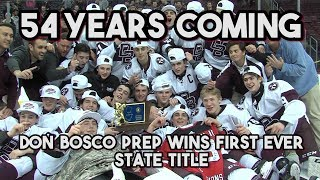 Don Bosco Prep 3 Delbarton 1 | Non-Public State Finals | Don Bosco Prep Wins First Ever State Title