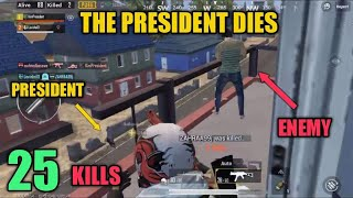 Terrorist Murders President   Duo Vs Squad   25 Kills   PUBG Mobile