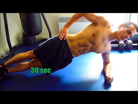 Les exercices pour le maintien du tonus des muscles de tout le corps