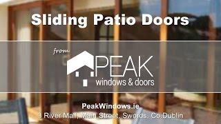 Sliding Patio Doors from Peak Windows And Doors, Swords Co. Dublin