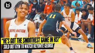 """He's Got The Smoothest Game in HS!"" Keyonte George VS Louisiana Best AAU Team! SOLD OUT EVENT"