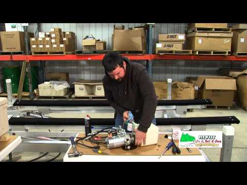 Changing the Oil in a Hewitt Hydraulic Lift Pump
