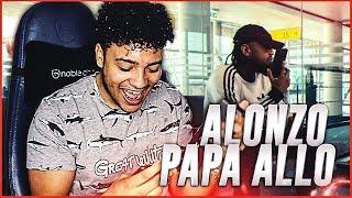 Alonzo   Papa Allo (Clip Officiel)   REACTION