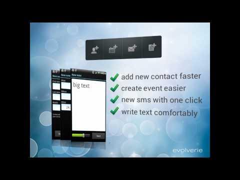 Video of Add Contact [WIDGETON]