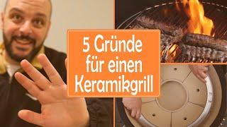 5 Gründe warum du einen Keramikgrill brauchst und warum den Masterbuilt!