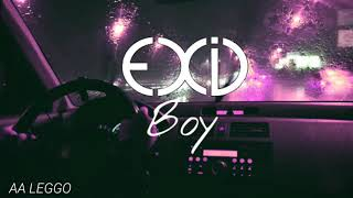 'EXID - Boy' Playing While Driving in The Rain(Wear headphones🎧)