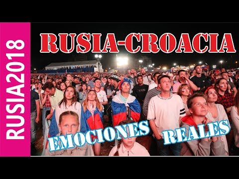 VAMOS RUSIA! | Rusia - Croacia l La fiesta de futbol rusa l FIFA WORLD CUP 2018