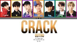 BTS (防弾少年団) - 'OUTRO: CRACK' (Kang|Rom|Esp) (COLOR CODED)