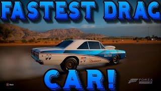 Forza Horizon 3: 270+ MPH FASTEST DRAG CAR! - (Dodge Dart Super Stock)