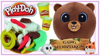 Play Doh & Przygody Gang Słodziaków • Obiad dla Borysa • bajki dla dzieci