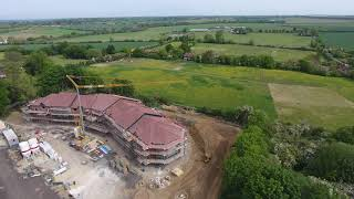 OLD CRICKET CENTRE SITE IPSWICH DJI PHANTOM DRONE