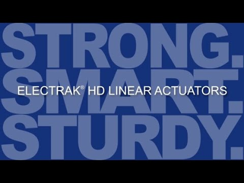 Thomson Electrak HD Linear Actuators - Strong. Smart. Sturdy.