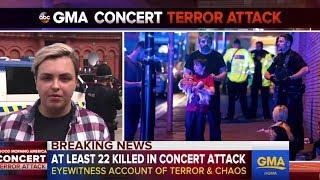 Ariana Grande concert bombing | Eyewitness on Manchester explosion