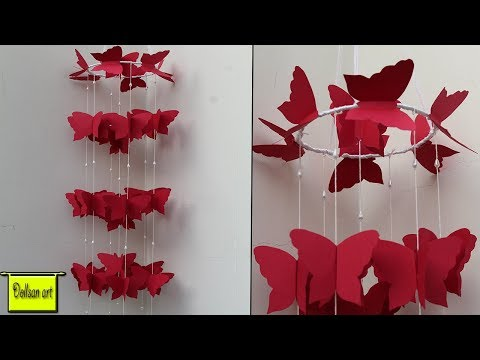 Diy Paper Wall Hanging Craft Ideas Diy Beautiful Wind Chime For