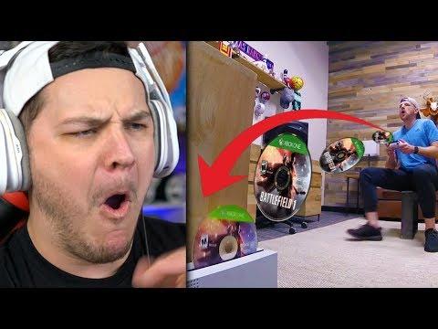 Real Life Trick Shots 2   Dude Perfect - Reaction (видео)