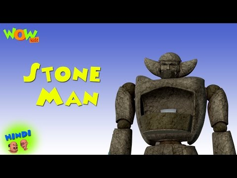 Stone Man - Motu Patlu in Hindi WITH ENGLISH, SPANISH & FRENCH SUBTITLES