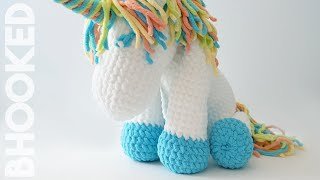 Cuddles The Crochet Unicorn Free Pattern And Tutorial
