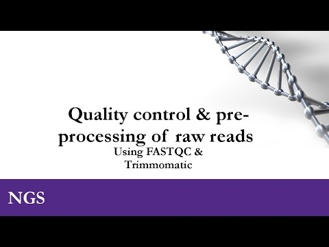RNA-seq course: Quality control & preprocessing of raw reads