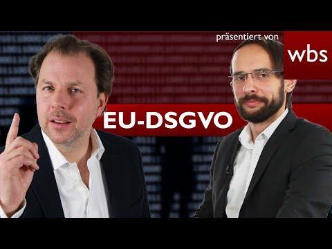 EU-Datenschutz-Grundverordnung (DSGVO): Was erwartet dich? | Rechtsanwalt Christian Solmecke
