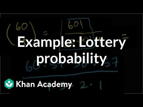 Example Lottery probability (video) Khan Academy