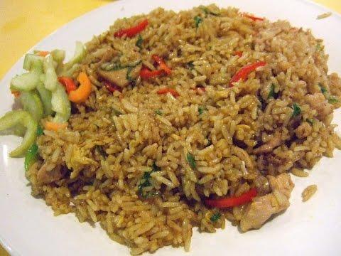 Video Cara Membuat Nasi Goreng Jawa