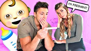 I'm Pregnant Prank On Boyfriend