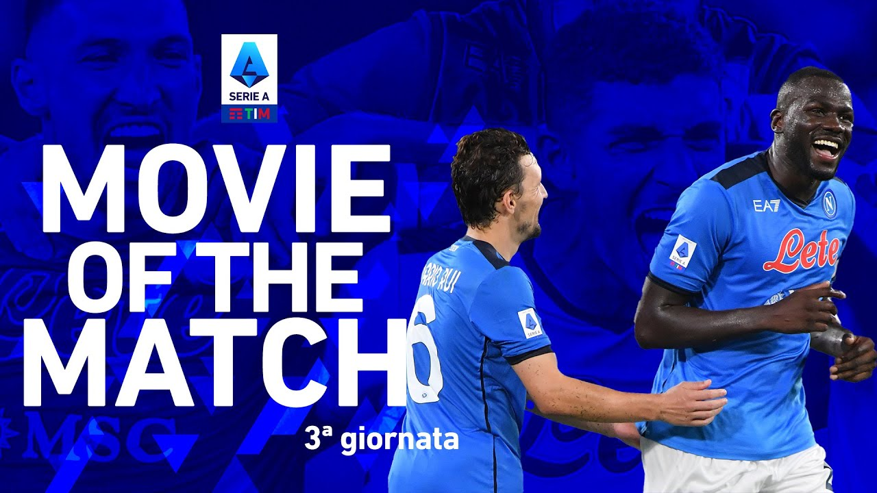 Il Napoli vince in casa! | Napoli 2-1 Juventus | Movie of the Match | Serie A TIM 2021/22