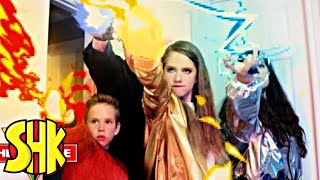 SuperPower Rings Origin Story! SHK HeroForce Full Movie Compilation | SuperHeroKids
