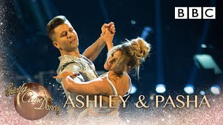 Ashley Roberts & Pasha Kovalev dance the Viennese Waltz to Perfect - BBC Strictly 2018