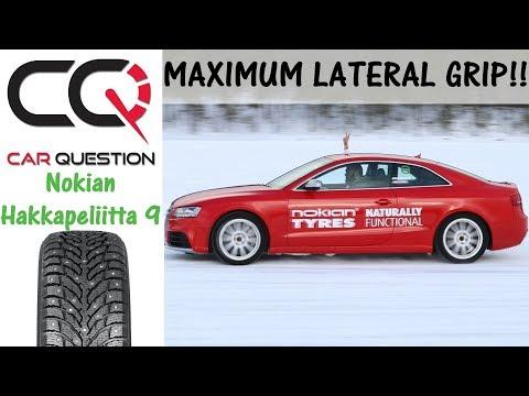 Nokian Hakkapeliitta 9 : Incredible cornering grip! | WInter Tire Review